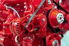 Motore a combustione interna automobilistico fotografie stock