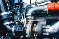 Motore a combustione interna automobilistico immagine stock