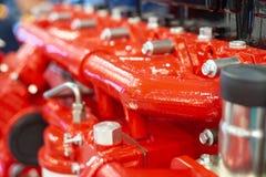 Motore a combustione interna automobilistico immagine stock libera da diritti