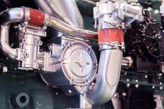 Motore a combustione interna automobilistico immagini stock