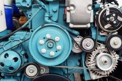 Motore a combustione interna automobilistico fotografie stock libere da diritti