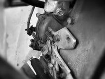 Motore d'annata Fotografia Stock Libera da Diritti