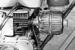 Motore d'annata Fotografie Stock