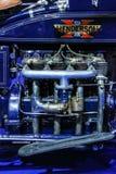 Motore d'annata del motociclo di Henderson Immagine Stock