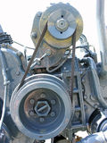 Motore del bus Immagine Stock Libera da Diritti