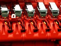 Motore del generatore di potenza Immagini Stock Libere da Diritti