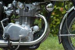 Motore del motociclo Immagine Stock