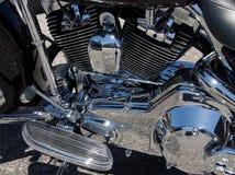 Motore del motociclo Fotografia Stock Libera da Diritti