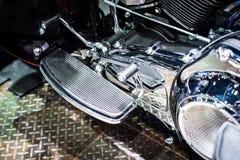 Motore del motociclo Immagine Stock Libera da Diritti