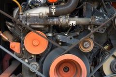 Motore del movimento dell'automobile Fotografie Stock