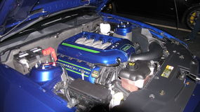Motore del mustang Immagine Stock