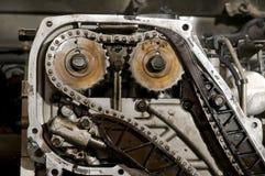motore del particolare dell'automobile Fotografie Stock Libere da Diritti