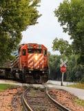 Motore del treno Immagini Stock Libere da Diritti
