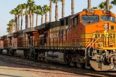 Motore del treno Immagine Stock