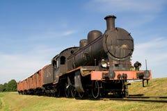 Motore del treno del vapore Fotografia Stock