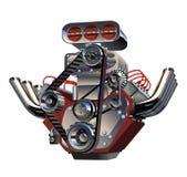 Motore del turbo del fumetto di vettore Fotografie Stock Libere da Diritti
