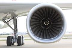 Motore dell'aeroplano Fotografie Stock
