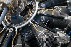 Motore dell'aeroplano Immagini Stock