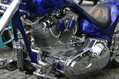 Motore della bici fotografie stock