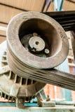 Motore della fabbrica con gli elastici Fotografie Stock