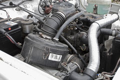 motore della jeep 4x4 Fotografia Stock Libera da Diritti