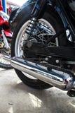 Motore della motocicletta. Fotografie Stock