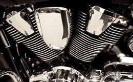 Motore della motocicletta Fotografie Stock Libere da Diritti
