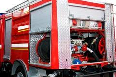 Motore della pompa antincendio Fotografie Stock