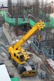 Motore della terra della costruzione Fotografie Stock Libere da Diritti