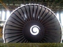 motore di aerei fotografia stock libera da diritti