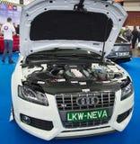 Motore di Audi Fotografia Stock