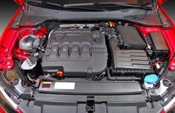 Motore di automobile Fotografie Stock Libere da Diritti