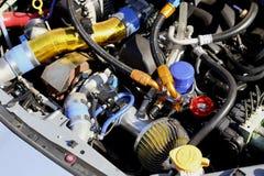 Motore di automobile Immagini Stock
