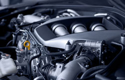 Motore di automobile