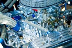 Motore dell'automobile classica Immagini Stock