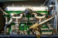 Motore di automobile d'annata Fotografie Stock Libere da Diritti