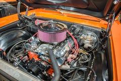 Motore di automobile del muscolo V8 fotografie stock