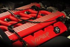 Motore di automobile eccellente della vipera RT10 di Dodge Fotografie Stock Libere da Diritti