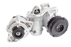 Motore di automobile elettrica Fotografia Stock Libera da Diritti
