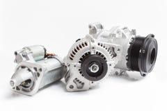 Motore di automobile elettrica Fotografia Stock