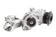 Motore di automobile elettrica Immagini Stock Libere da Diritti