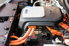 Motore di automobile elettrica di Kia Soul EV Fotografia Stock Libera da Diritti