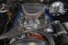 Motore 1970 di Chevrolet Fotografia Stock Libera da Diritti