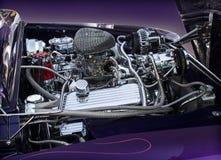 Motore 1950 di Ford Mercury Immagine Stock Libera da Diritti