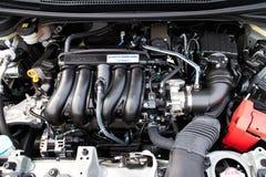 Motore 2014 di Honda Jazz Fit Fotografia Stock