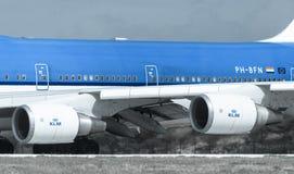 Motore di KLM Immagine Stock