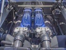 Motore di Lamborghini Immagini Stock Libere da Diritti