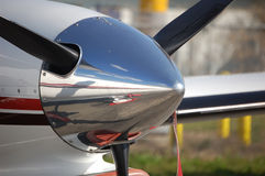 Motore di turbopropulsore Fotografie Stock Libere da Diritti