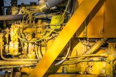 Motore di una gru di sollevamento Fotografia Stock Libera da Diritti