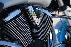 Motore 106 di Victory Motorcycle fotografie stock libere da diritti